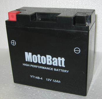 Motobatt Closed Battery